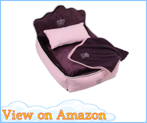 Comfortable Princess Dog Bed