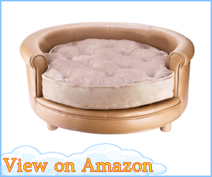 Luxury Leather Dog Bed