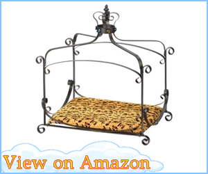 Royal Princess Canopy Dog Bed